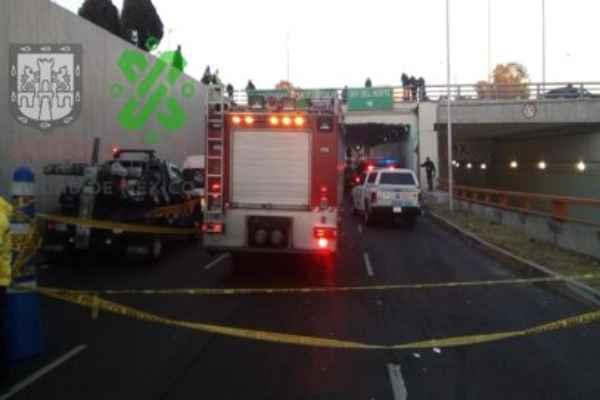 Los heridos fueron trasladados a hospitales cercanos. Foto: Ovial