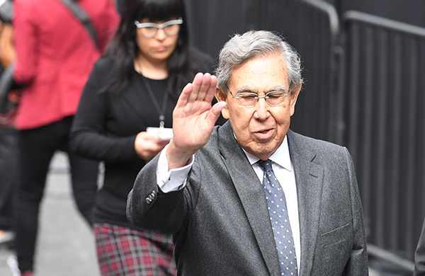 Cuauhtémoc Cárdenas, exjefe de Gobierno de la Ciudad de México.  FOTO: LESLIE PÉREZ