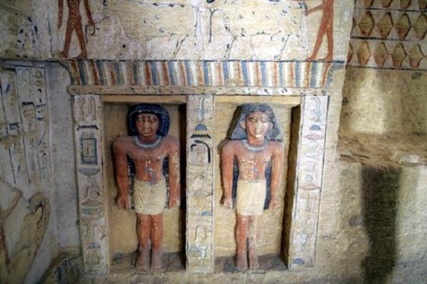 El ministro de Antigüedades de Egipto, Jaled al Anani, dijo que es la tumba