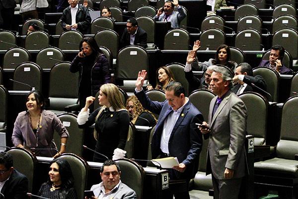 La diputada de Movimiento Ciudadano, Adriana Medina Ortiz, dijo que su bancada apoya esta reforma, que si bien es perfectible en algunos sentidos, sin duda es mejor en todos los sentidos a la opción de no hacer nada. FOTO: NOTIMEX