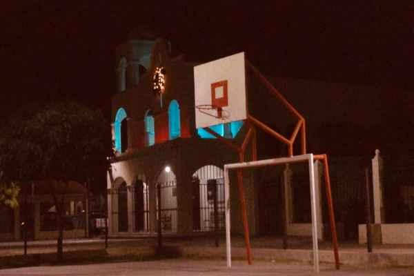 Los hechos ocurrieron a las 17:00 horas del sábado en la Iglesia de la Resurrección, ubicada en la colonia Las Quintas. Foto: Especial