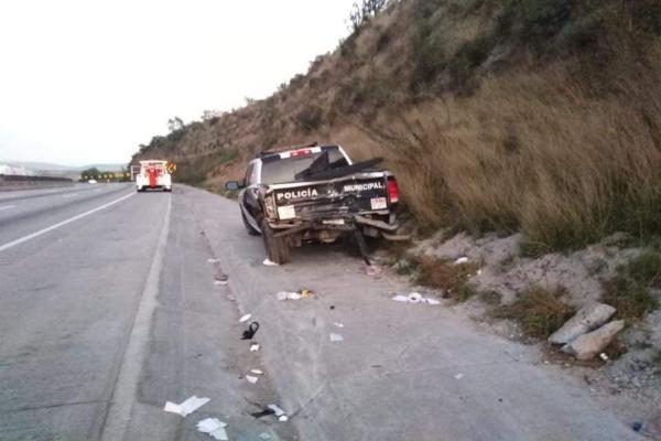 El conductor se fugó y hasta el momento se desconoce su paradero. Foto: Especial