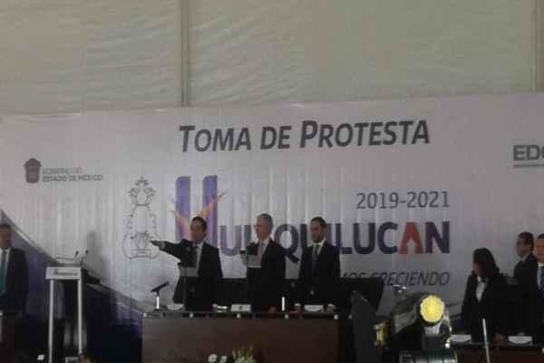 Del Villar destacó que Huixquilucan es el municipio con más inversión privada en todo el país. Foto: Leticia Ríos