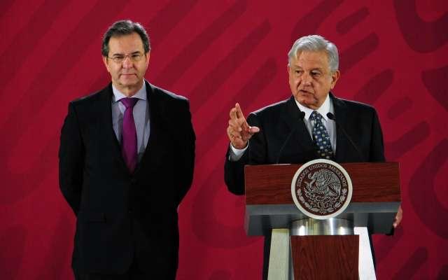 AMLO sostiene encuentro en Palacio Nacional.- FOTO: CUARTOSCURO