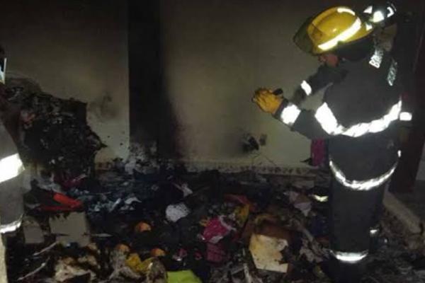 Se desconocen las causas del incendio. FOTO: @OpEsMx