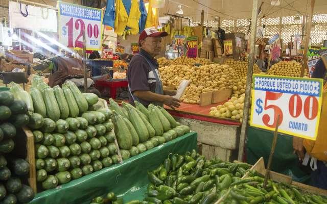 Entre los productos y servicios que más subieron en el mes están: tomate verde. FOTO: CUARTOSCURO
