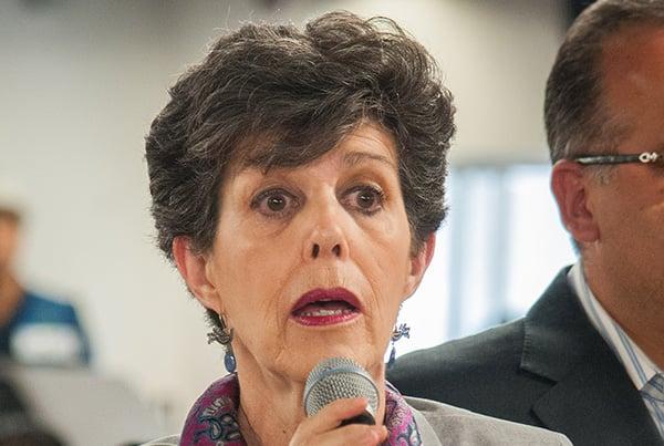 Janine Madeline Otálora Malassis, magistrada presidenta de la Sala Superior del Tribunal Electoral del Poder Judicial de la Federación.  FOTO: CUARTOSCURO