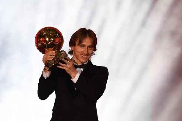 Ni Cristiano ni Messi, esta vez el Balón de Oro se lo lleva Luka Modric