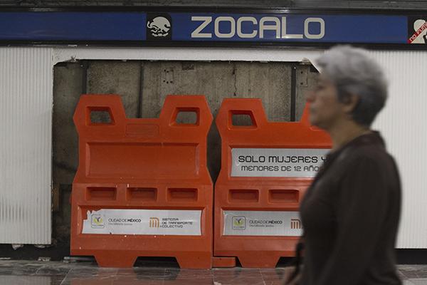 Piden a la población usar estaciones cercanas. FOTO: CUARTOSCURO