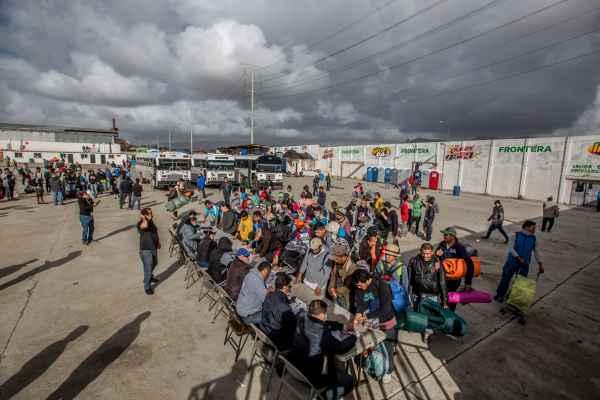El informe da cuenta de la configuración de la caravana migrante y sus etapas. Foto: Archivo | Cuartoscuro