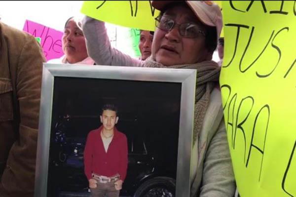 """En su pronunciamiento, Alcaraz Hernández afirmó que se habla de una escena del crimen alterada y acomodada """"a modo""""."""