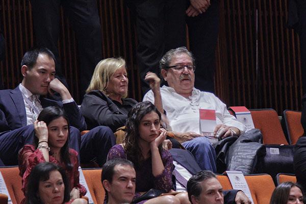 Paco Ignacio Taibo II asistió al FCE. FOTO: CUARTOSCURO