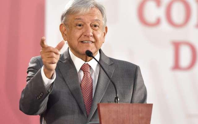 GASTO. El Presidente explicó, en su conferencia de prensa matutina, la forma en que se aplicará el Presupuesto. Foto:  PABLO SALAZAR SOLÍS