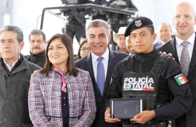 Gali estuvo acompañado por Claudia Rivera Vivanco, alcaldesa de la capital. Foto: Especial.