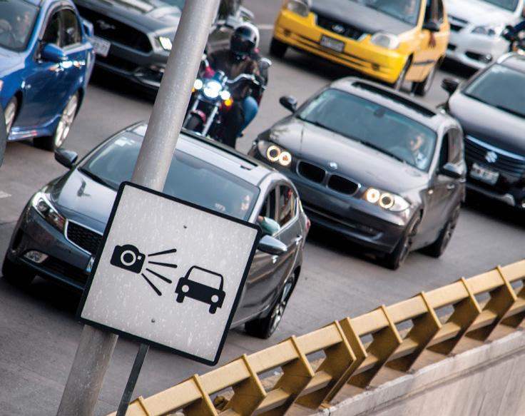 POLÉMICA. Desde que se instauraron los radares, los automovilistas capitalinos y foráneos externaron su desconfianza y molestia. Foto: Cuartoscuro