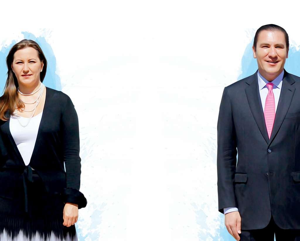 Martha Erika Alonso y Rafael Moreno Valle, Políticos Poblanos