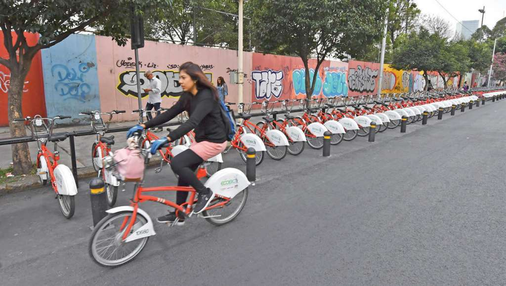 Los usuarios se verán obligados a usar cicloestaciones lejanas. Foto: Pablo Salazar Solís / El Heraldo de México.