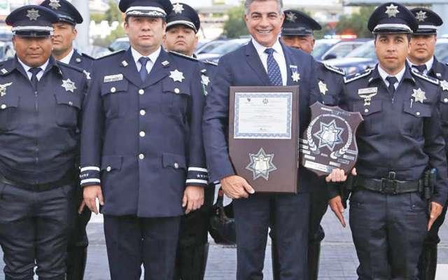 Los policías estatales reconocieron el liderazgo del gobernador Tony Gali. Foto: Especial.
