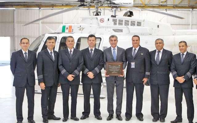 GARANTÍA. Las autoridades impulsan la calidad estatal en materia de seguridad pública y ambulancias aéreas. Foto: Especial