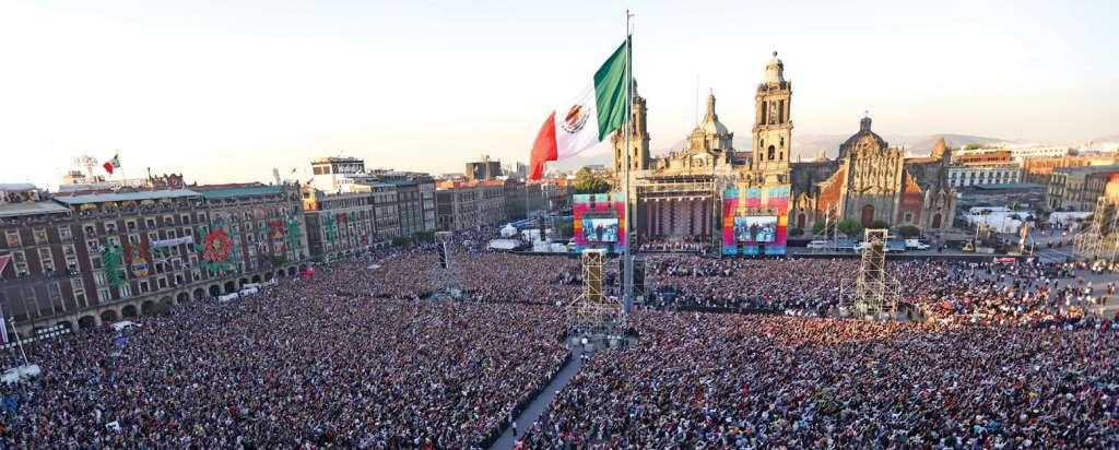 Imagen del Zócalo. Foto Especial.