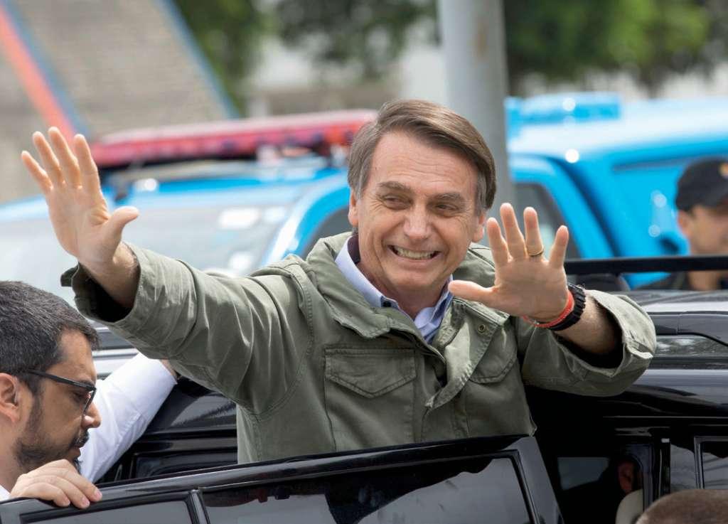 El presidente electo Jair Bolsonaro buscará ampliar el comercio brasileño. Foto: AP