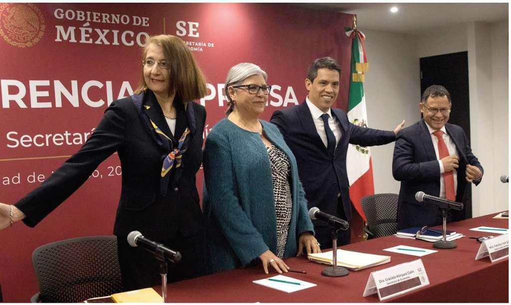 Graciela Márquez, titular de Economía, dijo que sin el gravamen se dinamizará el consumo. Foto: Notimex