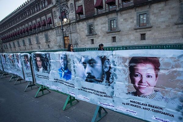 La fundación solicitó al presidente, Andrés Manuel López Obrador, acabar con la impunidad y aseguró que la Comisión Nacional de los Derechos Humanos (CNDH) lanzó un llamado para poner fin a estos hechos. FOTO: CUARTOSCURO