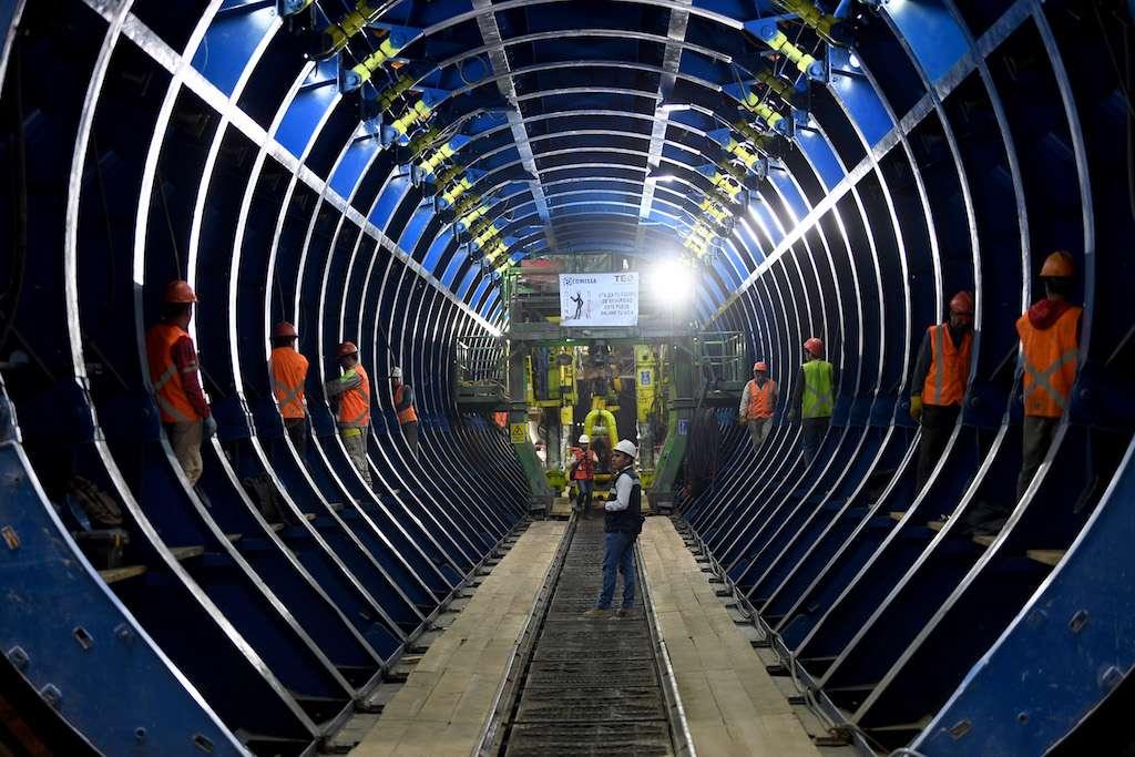 Para el Túnel Emisor Oriente se destinan otros dos mil millones de pesos. Foto: pablo salazar / El Heraldo de México.