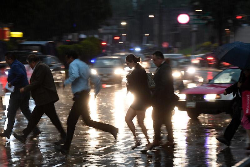 Alerta Amarilla por lluvia a siete alcaldías. Foto: EL Heraldo de México