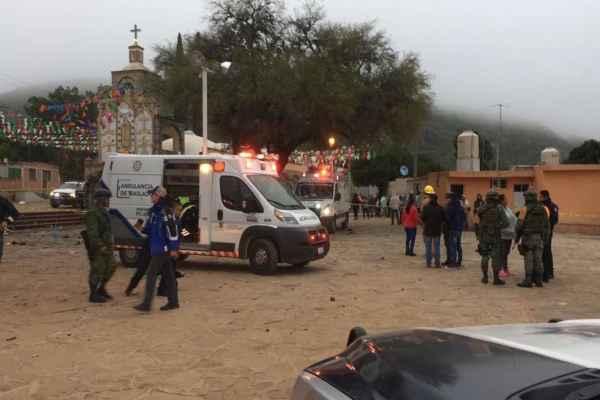 La Feria Internacional Ganadera Querétaro 2018 determinó prohibir el uso de pirotecnia durante el último día de actividades. Foto:@AlmaG_ez