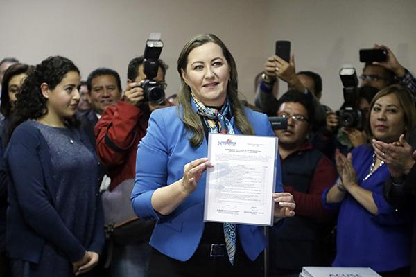 En una de sus últimas entrevistas que la gobernadora de Puebla, Martha Erika Alonso, dio a el Heraldo de México fue el 10 de diciembre, destacó que uno de los objetivos de su gobierno era combatir la inseguridad.