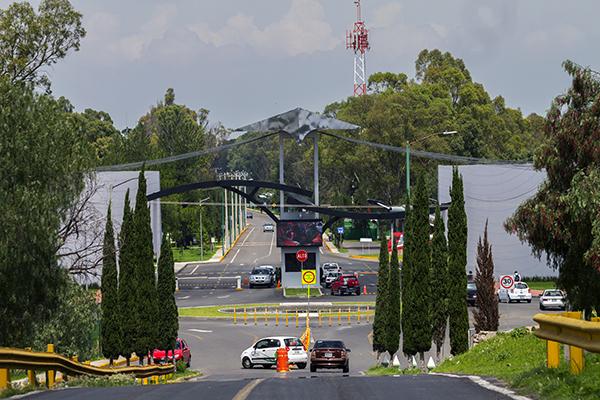 La Base Aérea Número 1 Santa Lucía reúne todas las condiciones para edificar ahí el Nuevo Aeropuerto Internacional de México (NAIM).  FOTO: NOTIMEX