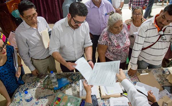 El Presidente de México, Andrés Manuel López Obrador, y el titular de SEDATU, Román Meyer Falcón regresarán a las zonas afectadas, el próximo 25 de enero. FOTO: CUARTOSCURO