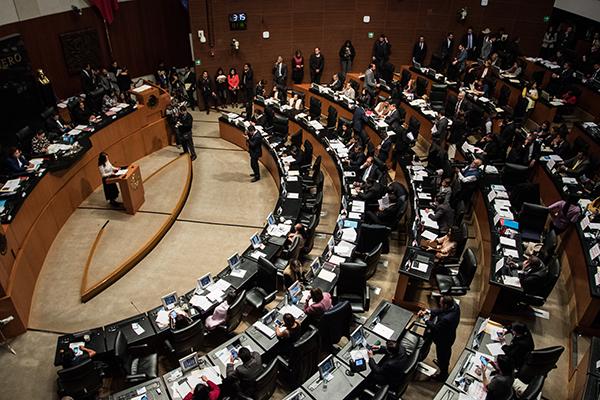 Sesión del pleno del Senado de la República. FOTO: CUARTOSCURO