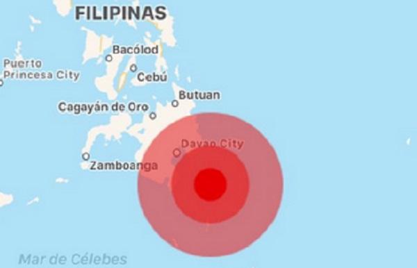 Se ha reportado un terremoto de magnitud 7.2 en Filipinas. Foto: Especial