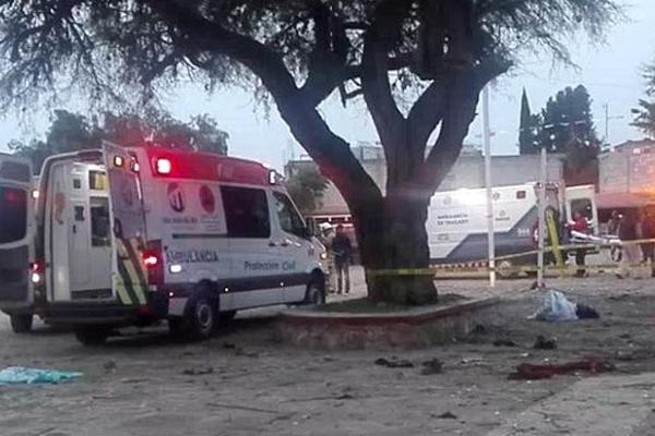 12 personas son atendidas en el Hospital General. FOTO: ESPECIAL