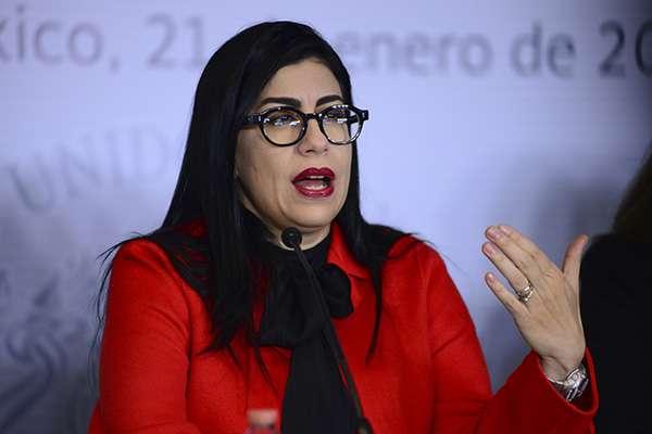Vanessa Rubio, senadora. FOTO: CUARTOSCURO