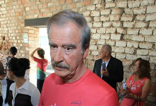 Vicente Fox, ex presidente de la República. FOTO: CUARTOSCURO