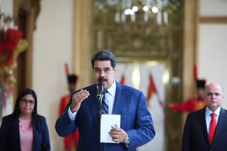 Maduro no tomará juramento ante la Asamblea Nacional, controlada por la oposición. Foto: AFP