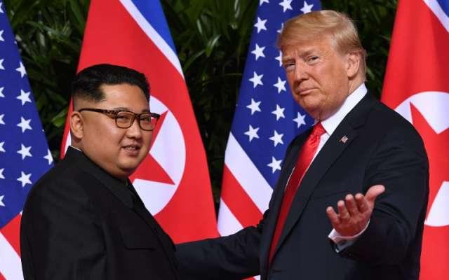 Es la segunda vez queTrumprecibe al enviado norcoreano. FOTO: AFP