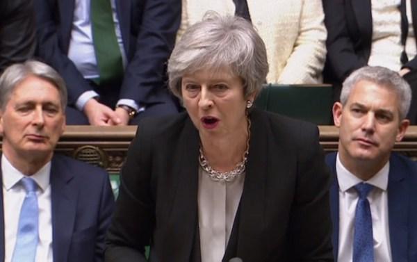 May sigue luchando por sacar a Reino Unido de la Unión Europea. Foto: AFP