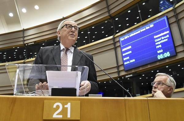 El Brexit no se renegociará, dijo el presidente de la Comisión Europea, Jean-Claude Juncker. Foto: AFP
