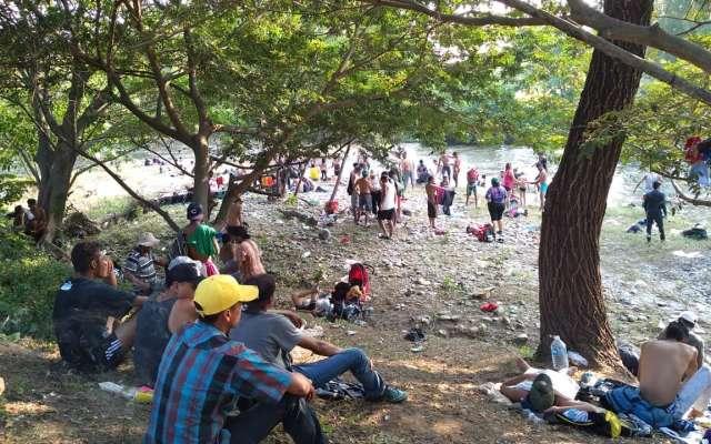 Lamentan situación de migrantes en la frontera sur. FOTO: ESPECIAL