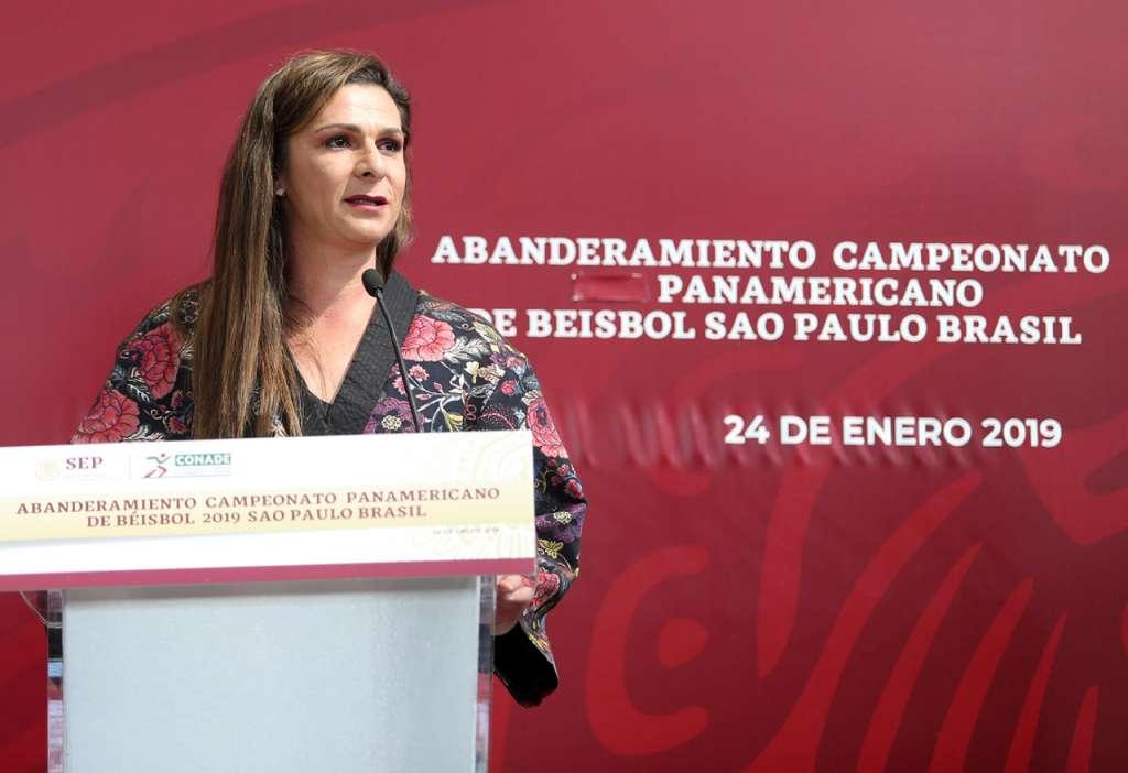 En la imagen, Ana Gabriela Guevara. FOTO: ESPECIAL