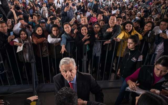 Andrés Manuel López Obrador, presidente de México, encabezó el arranque del