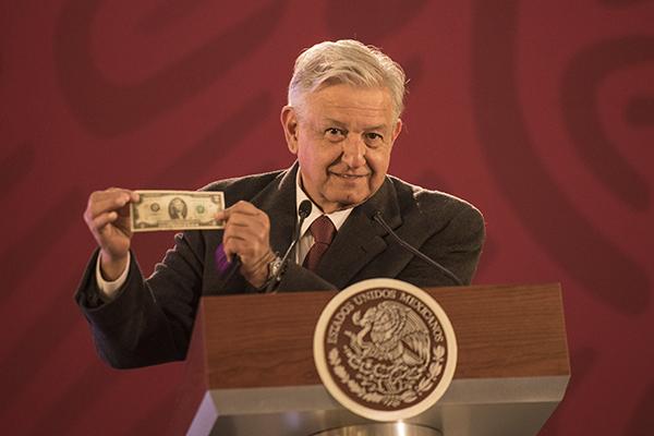 El Presidente dio a conocer su declaración patrimonial. FOTO: CUARTOSCURO