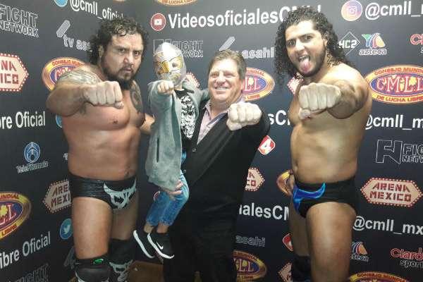 Miguel Herrera visitó el pasado fin de semana la Arena México Foto: Especial