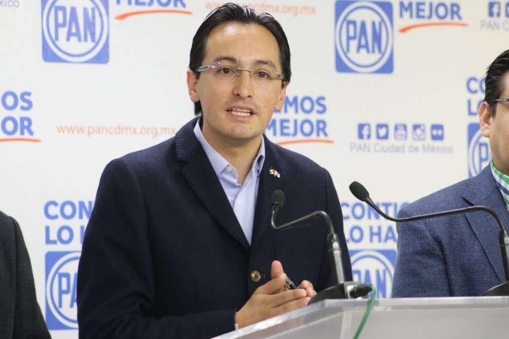 El líder del PANCDMX exigió que el Gobierno local implemente un Plan de Abastecimiento de Alimentos y de Operación de Cuerpos de Seguridad y Emergencia