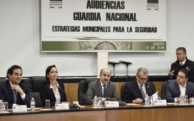 Los presidentes municipales de Ciudad Juárez, Tijuana, Querétaro, Puebla y Acapulco, entre otros, apoyaron la creación de la Guardia Nacional