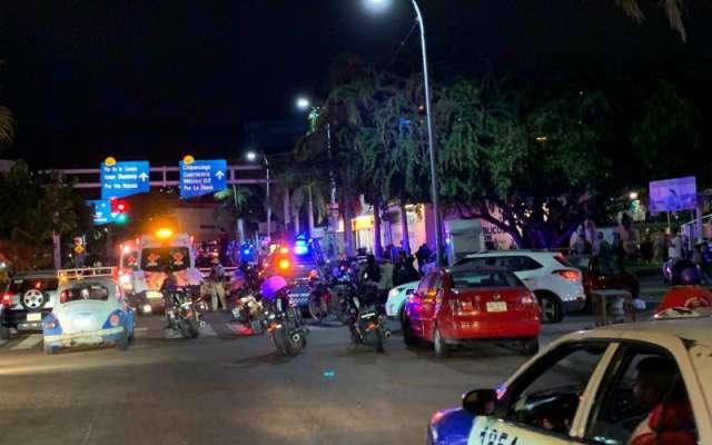 De acuerdo con el informe de la Policía Estatal, los agresores se desplazaban a bordo de un taxi colectivo